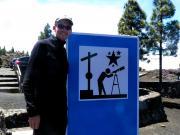 Mirador del Jable - a good spot for star-gazing on La Palma