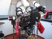 Inside the Tacande Observatory - the telescopes, La Palma, Spain