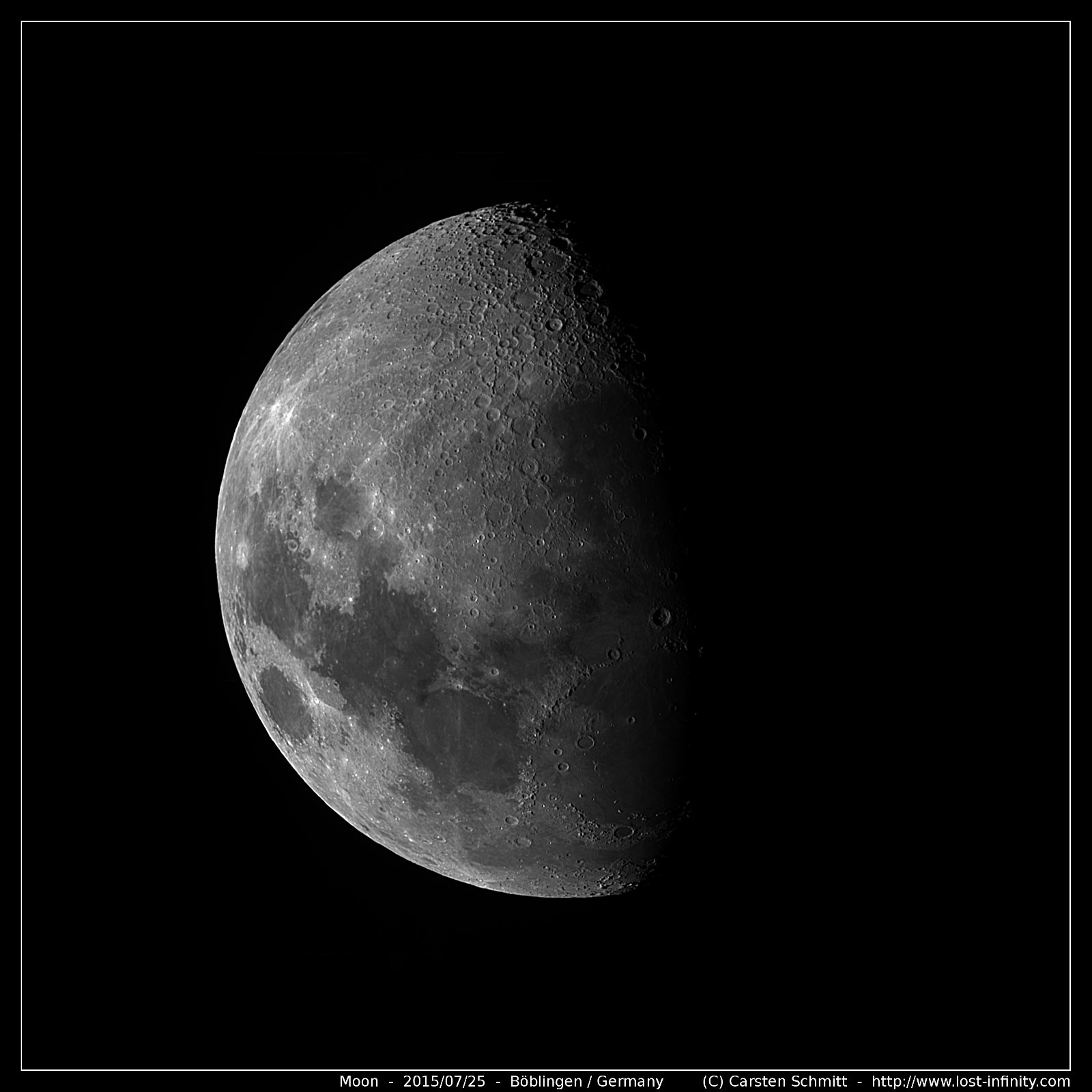 Creating A Moon Poster Or How To Record A Moon Mosaic