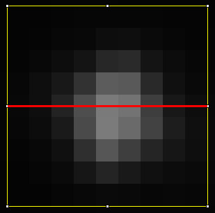 Night sky image processing - Part 5: Measuring FWHM of a