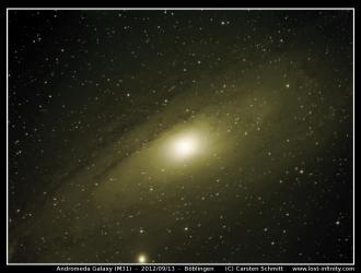 Andromeda Galaxy (M31) - 2012/09/13
