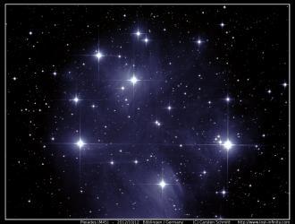 Pleiades (M45) - 2012/10/12
