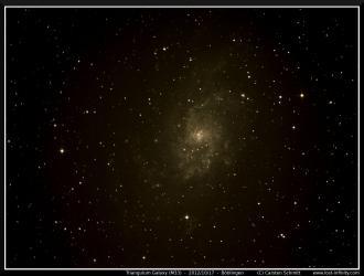 Triangulum Galaxy (M33) - 2012/10/17