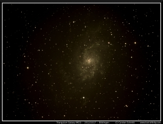 Triangulum Galaxy (M33) - 2012/10/17
