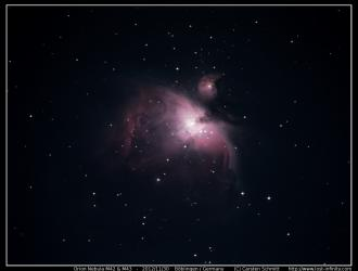 Orion Nebula (M42 & M43) - 2012/11/30
