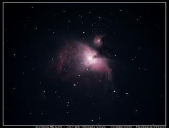 Orion Nebula (M42 & M43) - 2012/11/30