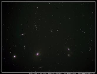 Virgo Cluster - 2013/04/17