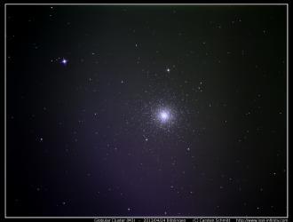 Globular cluster M3 - 2013/04/24