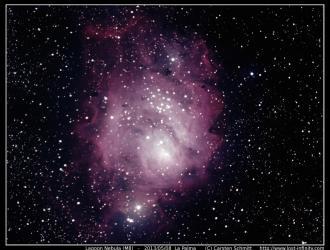 Lagoon Nebula (M8) - 2013/05/08