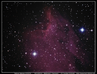 Pelican Nebula (IC5070) - 2013/05/14