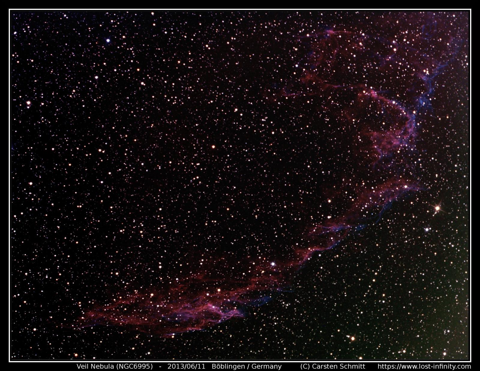 Veil Nebula (NGC6995) - 2013 06 11 69a9e513c