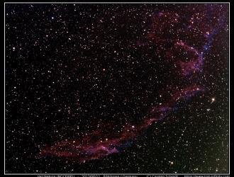 Veil Nebula (NGC6995) - 2013/06/11