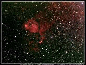 Heart Nebula (IC1805) - 2013/09/05