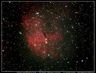 Gamma-Cygni-Nebula (IC1318) - Part 2 - 2013/09/24