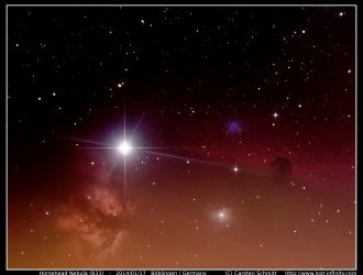 Horsehead Nebula (B33) - 2014/01/17