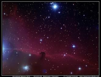 Horsehead Nebula (B33) - 2014/01/28