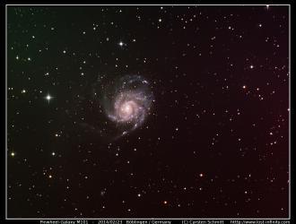 Pinwheel Galaxy (M101) - 2014/02/23