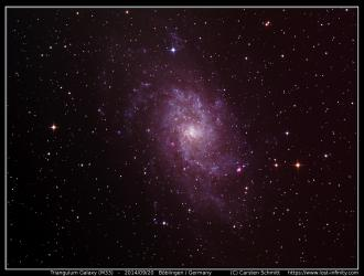 Triangulum Galaxy (M33) - 2014/09/20