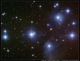 Pleiades (M45) - 2015/02/08
