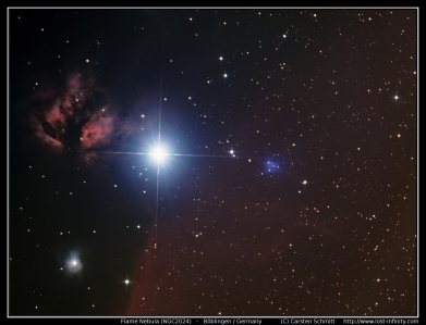 Flame Nebula (NGC2024) - 2015/02/11