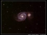 Messier 51 - The Whirlpool Galaxy LRGB