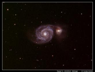 Messier 51 - The Whirlpool Galaxy LRGB
