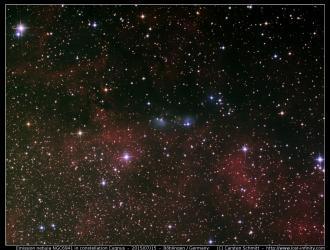 Emission nebula NGC6941 - 2015/07/15