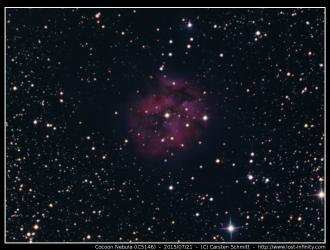 Cocoon Nebula (IC5146) - 2015/07/21