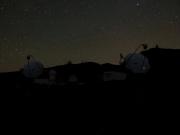 MAGIC on Roque de Los Muchachos at night