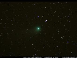 Comet Catalina C2013US10 - 2016/02/01