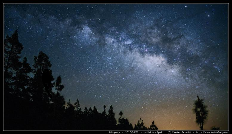 Milkyway -from La Palma / Spain - 2016/06/01