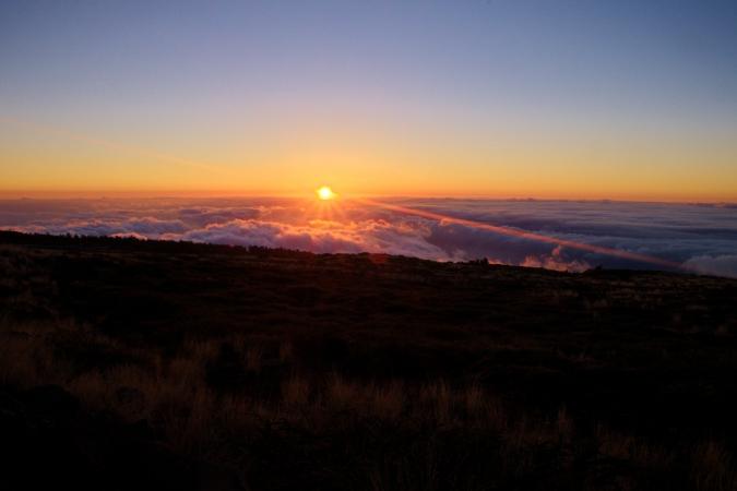 Sunset at Roque de Los Muchachos, La Palma
