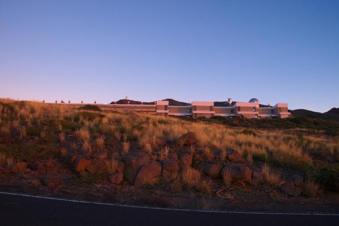 Sunset at Roque de Los Muchachos Observatory, La Palma