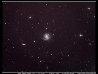 Spiral galaxy M100 - 2017/03/27