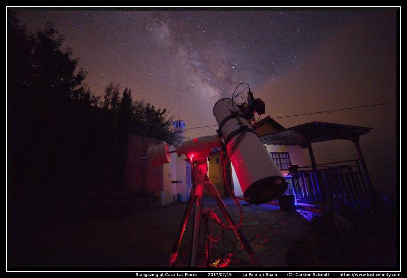 Star gazing Casa Las Flores La Palma