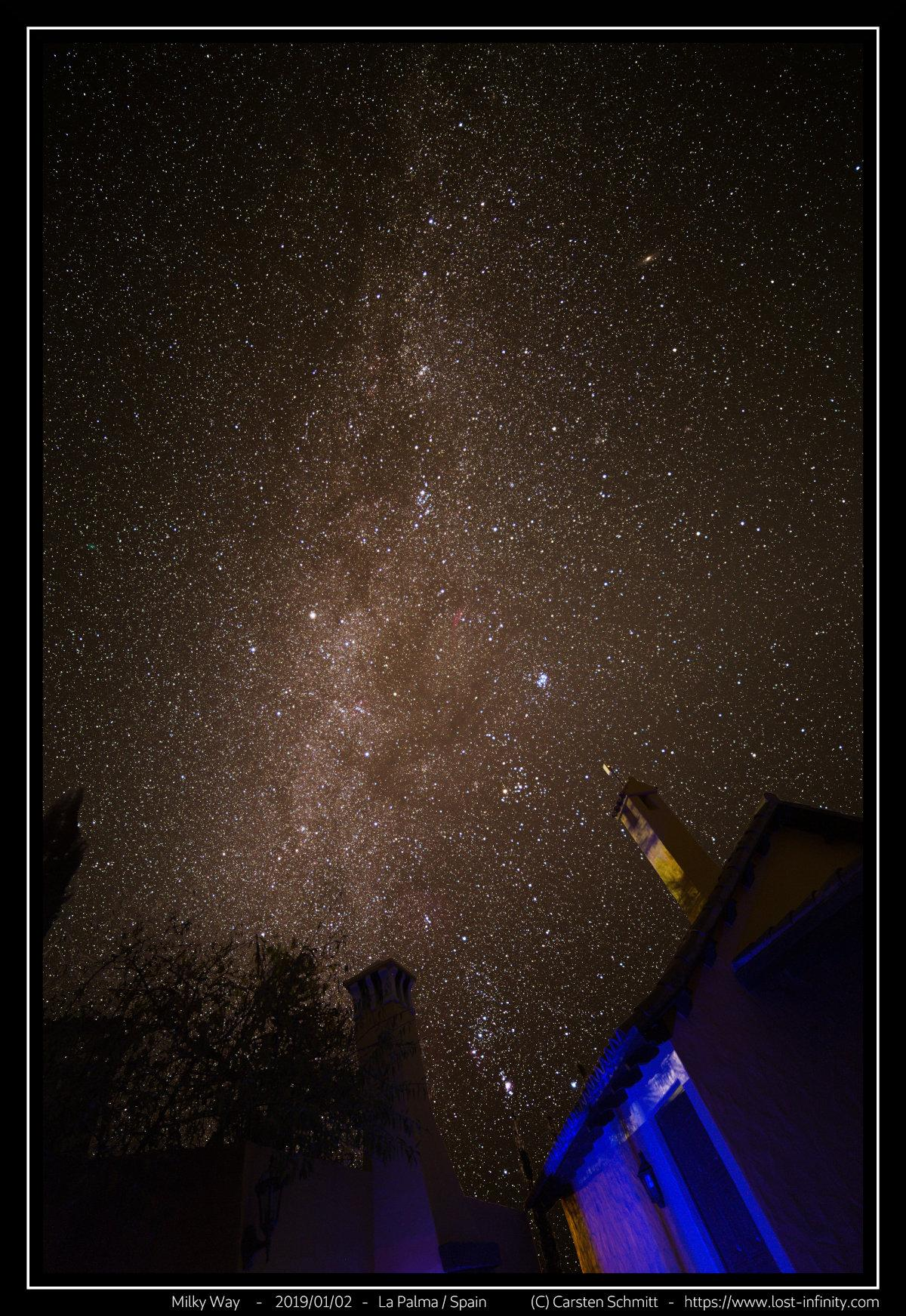 Milky Way - 2019/02/01