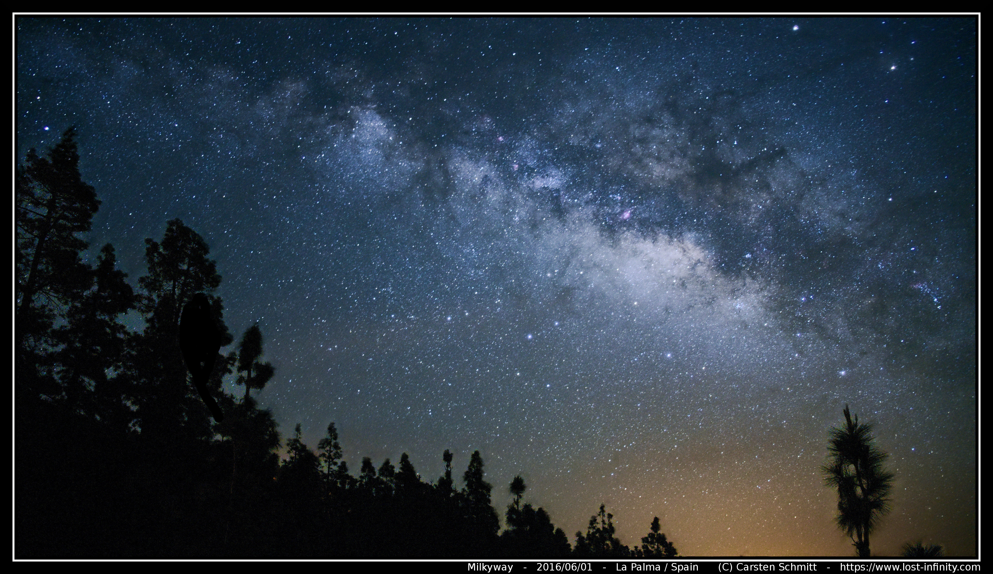 Milkyway photography with the X-T1 and stacking with